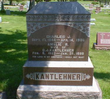 KANTLEHNER, AMALIE R. - Cerro Gordo County, Iowa | AMALIE R. KANTLEHNER