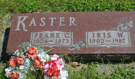 KASTER, FRANK C. - Cerro Gordo County, Iowa | FRANK C. KASTER