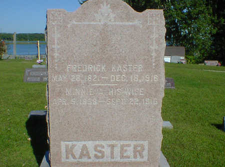 KASTER, MINNIE A. - Cerro Gordo County, Iowa | MINNIE A. KASTER