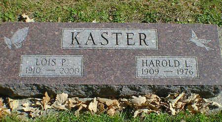 KASTER, LOIS P. - Cerro Gordo County, Iowa | LOIS P. KASTER