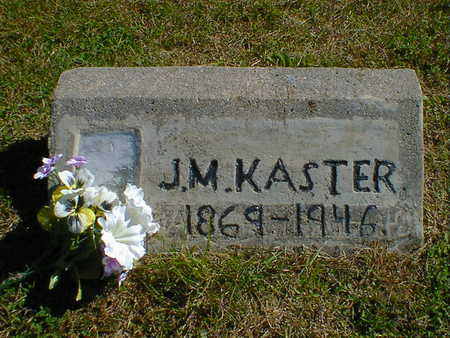 KASTER, J.M. - Cerro Gordo County, Iowa | J.M. KASTER