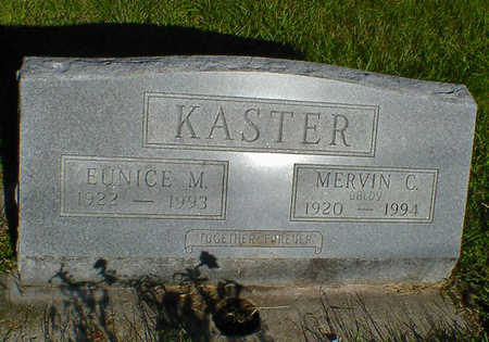 KASTER, MERVIN C. - Cerro Gordo County, Iowa | MERVIN C. KASTER