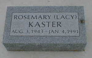 KASTER, ROSEMARY - Cerro Gordo County, Iowa | ROSEMARY KASTER