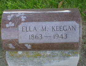 KEEGAN, ELLA M. - Cerro Gordo County, Iowa | ELLA M. KEEGAN