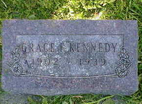 KENNEDY, GRACE - Cerro Gordo County, Iowa | GRACE KENNEDY