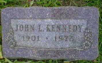 KENNEDY, JOHN L. - Cerro Gordo County, Iowa | JOHN L. KENNEDY