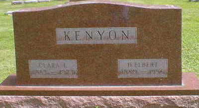 KENYON, CLARA L. - Cerro Gordo County, Iowa | CLARA L. KENYON