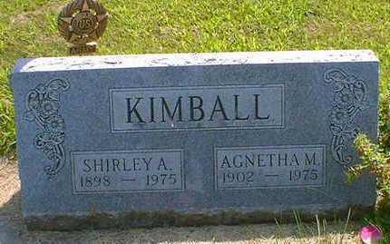 KIMBALL, SHIRLEY A. - Cerro Gordo County, Iowa | SHIRLEY A. KIMBALL