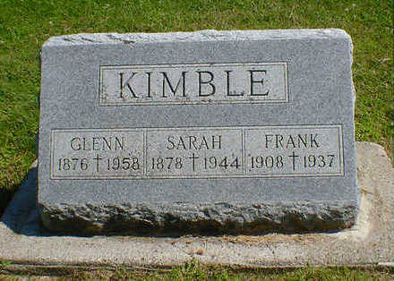 KIMBLE, SARAH - Cerro Gordo County, Iowa | SARAH KIMBLE