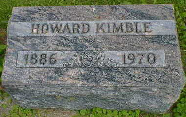 KIMBLE, HOWARD - Cerro Gordo County, Iowa | HOWARD KIMBLE