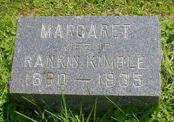 KIMBLE, MARGARET - Cerro Gordo County, Iowa | MARGARET KIMBLE