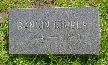 KIMBLE, RANKIN - Cerro Gordo County, Iowa | RANKIN KIMBLE