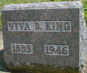 KING, VIVA B. - Cerro Gordo County, Iowa | VIVA B. KING
