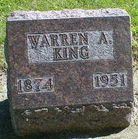KING, WARREN A. - Cerro Gordo County, Iowa | WARREN A. KING