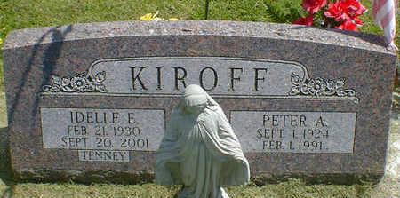KIROFF, IDELLE E. - Cerro Gordo County, Iowa | IDELLE E. KIROFF
