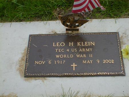 KLEIN, LEO HENRY - Cerro Gordo County, Iowa | LEO HENRY KLEIN