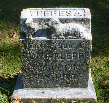 KLEPP, THERESA - Cerro Gordo County, Iowa | THERESA KLEPP