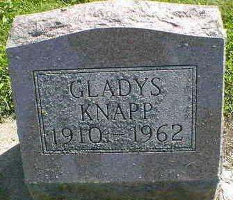 KNAPP, GLADYS - Cerro Gordo County, Iowa | GLADYS KNAPP