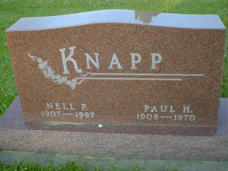 KNAPP, PAUL H. - Cerro Gordo County, Iowa | PAUL H. KNAPP