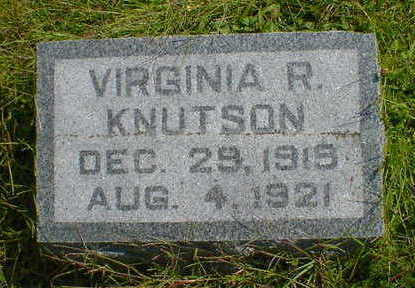 KNUTSON, VIRGINIA R. - Cerro Gordo County, Iowa | VIRGINIA R. KNUTSON