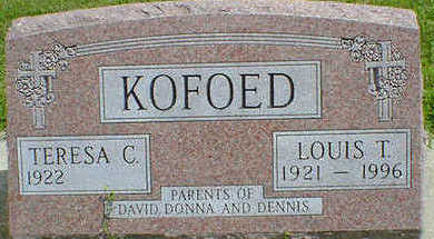 KOFOED, LOUIS T. - Cerro Gordo County, Iowa | LOUIS T. KOFOED