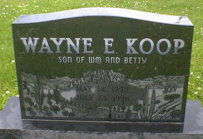 KOOP, WAYNE E. - Cerro Gordo County, Iowa | WAYNE E. KOOP