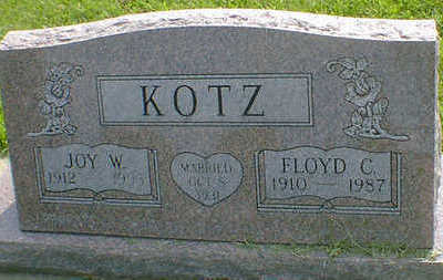 KOTZ, JOY W. - Cerro Gordo County, Iowa | JOY W. KOTZ