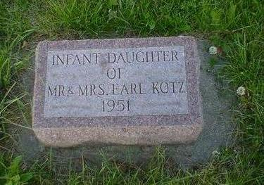 KOTZ, INFANT - Cerro Gordo County, Iowa | INFANT KOTZ