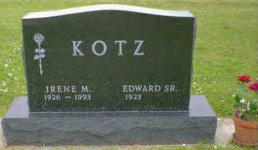 KOTZ, IRENE M. - Cerro Gordo County, Iowa | IRENE M. KOTZ