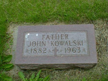 KOWALSKI, JOHN - Cerro Gordo County, Iowa | JOHN KOWALSKI