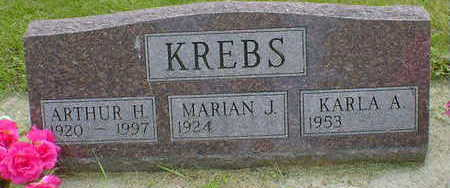 KREBS, ARTHUR H. - Cerro Gordo County, Iowa | ARTHUR H. KREBS