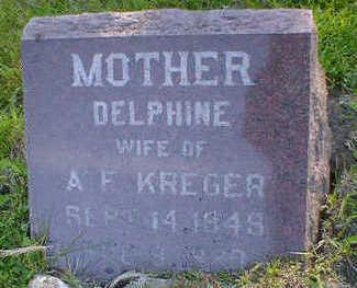 KREGER, DELPHINE - Cerro Gordo County, Iowa | DELPHINE KREGER