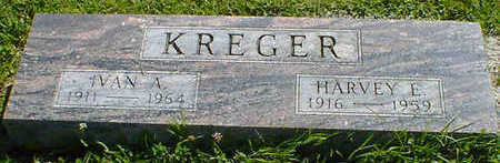 KREGER, HARVEY E. - Cerro Gordo County, Iowa | HARVEY E. KREGER