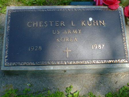 KUHN, CHESTER L. - Cerro Gordo County, Iowa | CHESTER L. KUHN