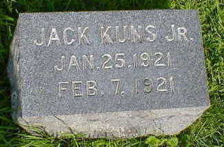 KUNS, JACK, JR. - Cerro Gordo County, Iowa | JACK, JR. KUNS
