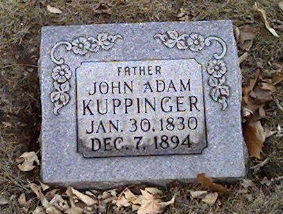 KUPPINGER, JOHN - Cerro Gordo County, Iowa | JOHN KUPPINGER