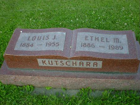 KUTSCHARA, LOUIS J. - Cerro Gordo County, Iowa | LOUIS J. KUTSCHARA