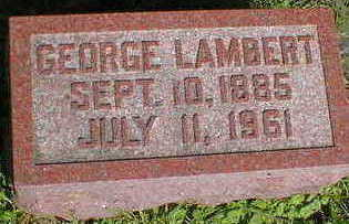 LAMBERT, GEORGE - Cerro Gordo County, Iowa | GEORGE LAMBERT