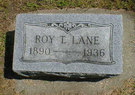 LANE, ROY T. - Cerro Gordo County, Iowa | ROY T. LANE