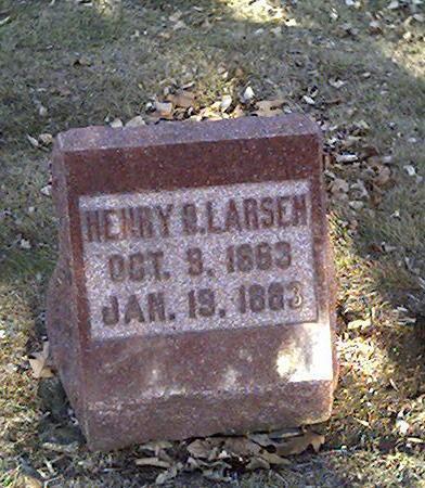 LARSEN, HENRY O. - Cerro Gordo County, Iowa | HENRY O. LARSEN