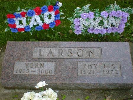 LARSON, VERN - Cerro Gordo County, Iowa | VERN LARSON