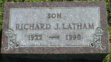 LATHAM, RICHARD J. - Cerro Gordo County, Iowa | RICHARD J. LATHAM