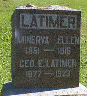LATIMER, GEO. E. - Cerro Gordo County, Iowa | GEO. E. LATIMER