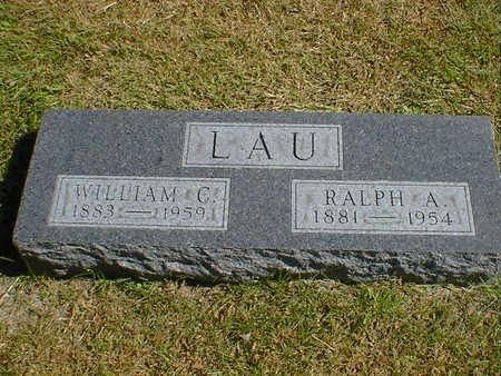 LAU, RALPH A. - Cerro Gordo County, Iowa | RALPH A. LAU