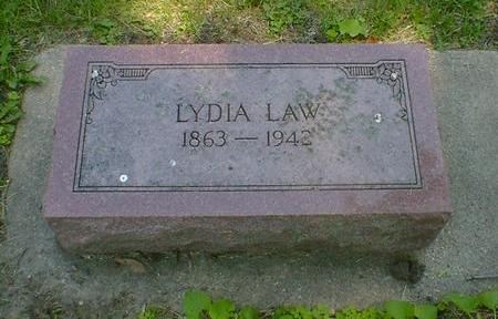 LAW, LYDIA - Cerro Gordo County, Iowa | LYDIA LAW