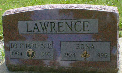 LAWRENCE, EDNA - Cerro Gordo County, Iowa | EDNA LAWRENCE