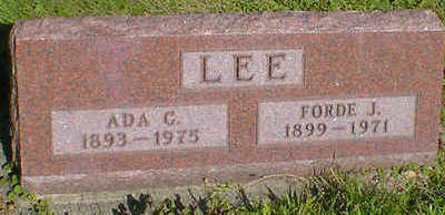 LEE, ADA C. - Cerro Gordo County, Iowa | ADA C. LEE