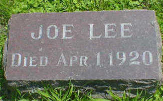 LEE, JOE - Cerro Gordo County, Iowa | JOE LEE