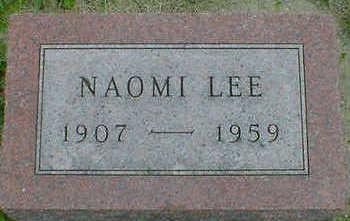LEE, NAOMI - Cerro Gordo County, Iowa | NAOMI LEE
