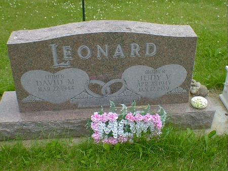 LEONARD, JUDY V. - Cerro Gordo County, Iowa | JUDY V. LEONARD